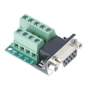 DB9-female-adapter-signals-terminal-module-RS232-serial-to-DB9-connect-Gw