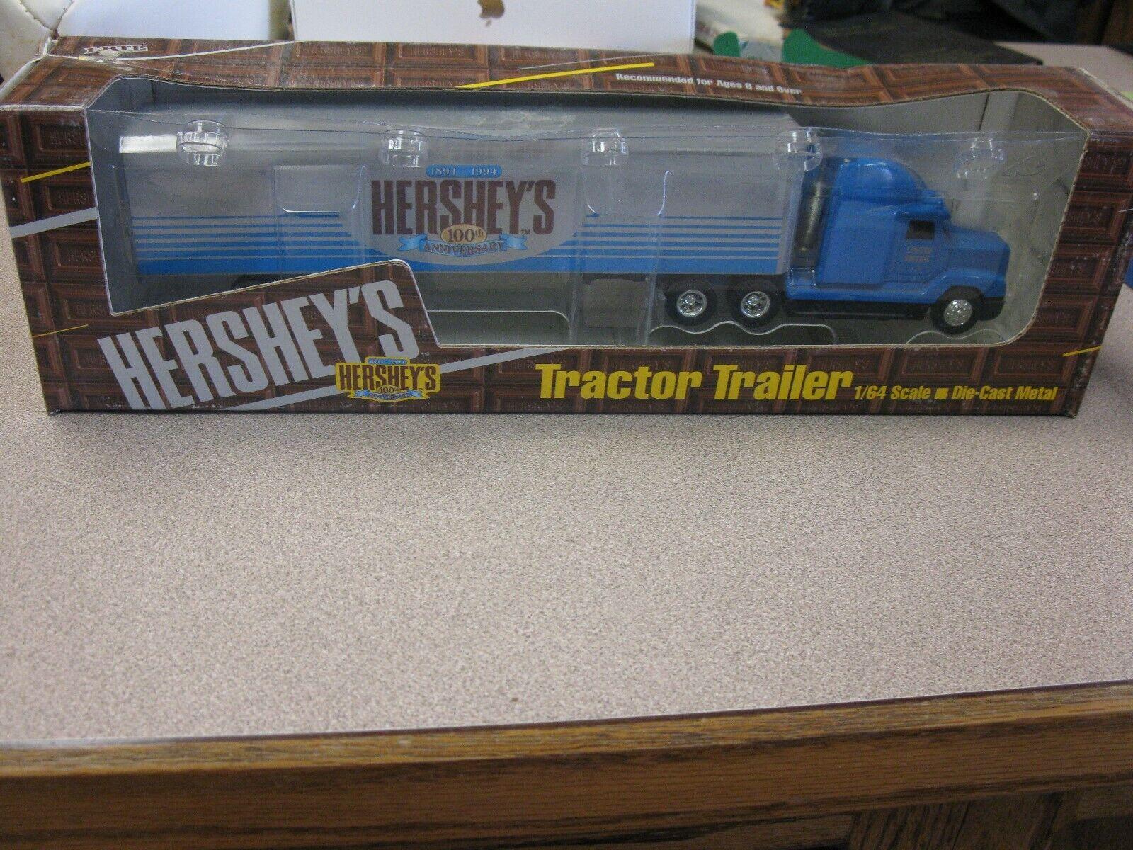 ERTL; 1 64 scale; Hershey's Chocolate Van; semi truck model