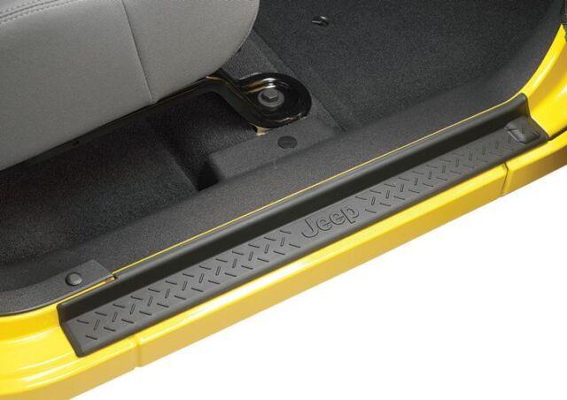 2007-2018 Jeep Wrangler Unlimited JK 4 Door - Door Sill Guards Plates MOPAR OEM
