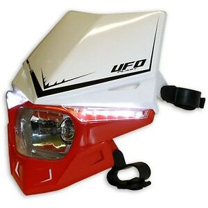 PANNEAU-BOITIER-D-039-ECLAIRAGE-UFO-STEALTH-Rouge-BLANCHE-rouge-W-Phare-PF01715W070