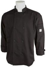 Mercer Millennia Cutlery Unisex Black Chef Coat 3xl