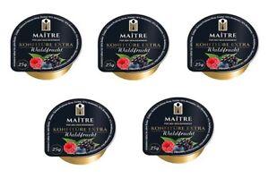 9-14-1kg-Waldfrucht-Konfituere-Extra-100-x-25-g-Marmelade-von-Maitre