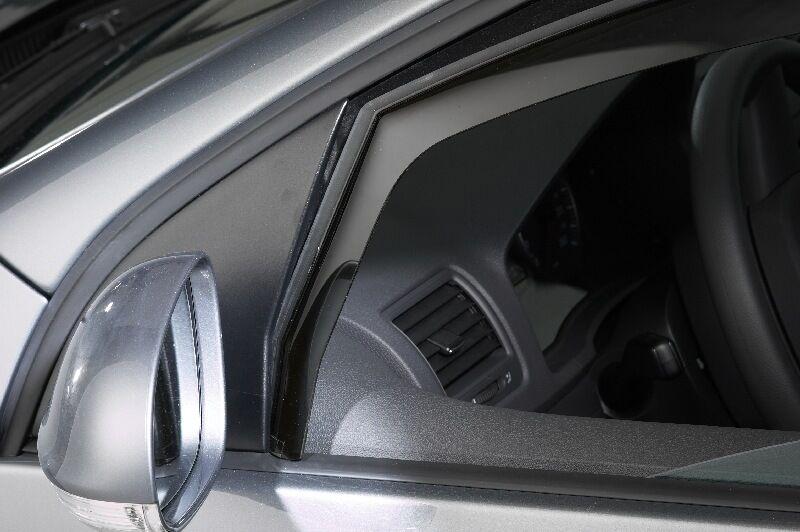 VW Caddy IV / Life 2K SW 4 Türer mit Climair Windabweiser mit Türer ABE Rauchgrau 1a2164