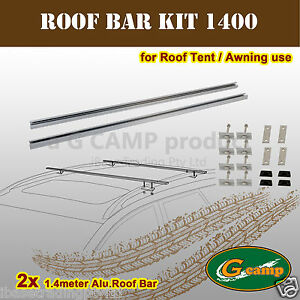 G-CAMP-1-4M-BAR-KIT-AWNING-ROOF-TOP-TENT-CAMPER-TRAILER-4WD-4X4-CAR-RACK