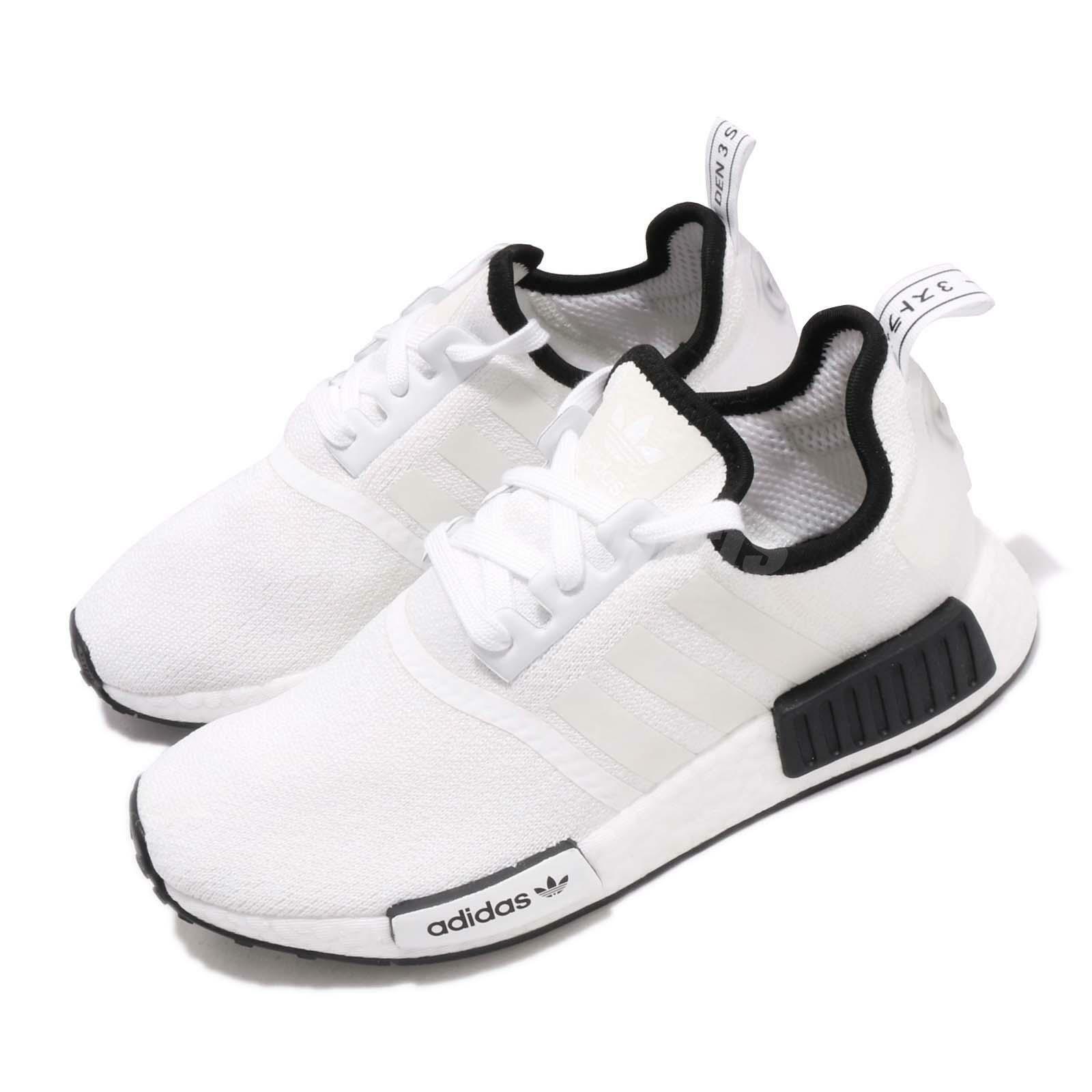 Adidas Originals NMD_R1 blanco negro Men Running Casual zapatos zapatillas DB3587
