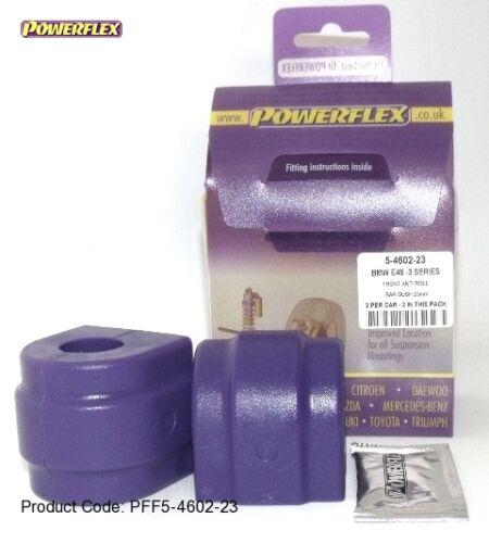 2 pu reservar 25mm estabilizador va bmw e46 e39 e81 e90 e85 z4 PowerFlex 5-4602-25