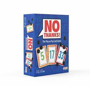 No-Thanks-Amigo-Games-Edition-Card-Game-English-Geschenkt-AGI-18414-Family