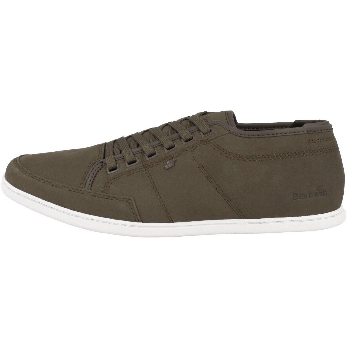 Boxfresh SPARKO Sports Ibrido pelle scarpe uomo sneaker uomo fango E15268 SH Scarpe classiche da uomo