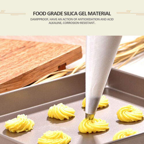 100//200PCS Disposable Piping Bag Icing Fondant Cake Cream Decorating Pastry Tool