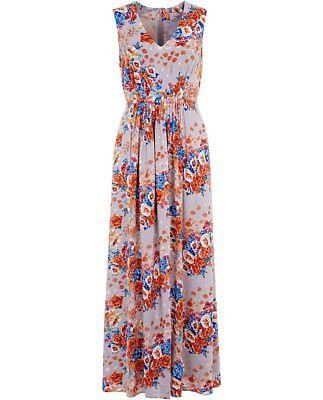 POEM BY OLIVER BONAS JULIETTE FLORAL COTTON SUMMER MAXI DRESS SIZE 10 12 ♡♡♡ | eBay