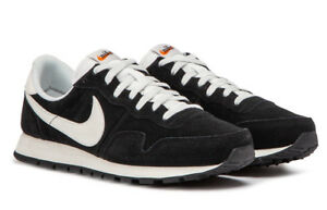 59274175f3be Nike Air Pegasus 83 Leather Running Shoes Black White 827922-001 ...