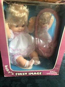 BABY-s-FIRST-IMAGE-Doll-With-Mirror-By-LOVEE-DOLL-Co-RARE-NRFB
