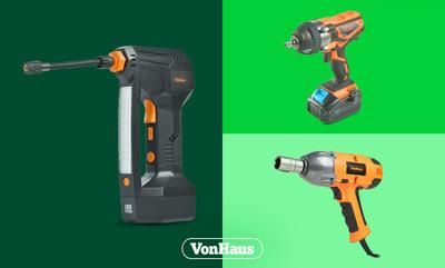 Up to 33% off VonHaus Tools