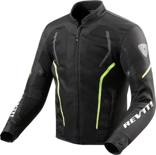 Motorcycle Jacket REVIT GT-R AIR 2 BLACK//FLUO size L