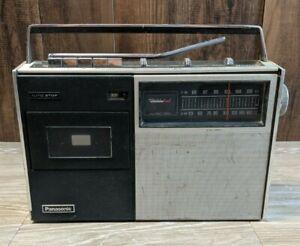 Vintage-Panasonic-RQ-437S-Boombox-Ghetto-Blaster-For-Repair