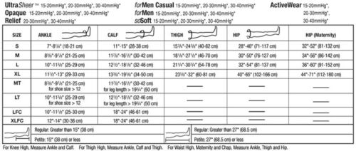JOBST Socks for Men Knee High Support 20-30 mmHg Compression OPEN Toe