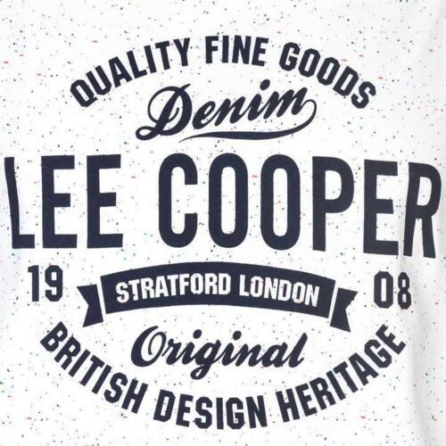 ✅ Lee Cooper Mens Muscle Shirt Tank Top Vest Sleeveless Sleeveless Shirt