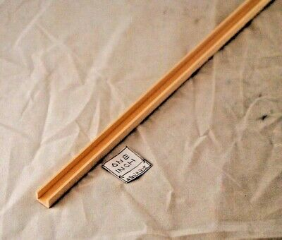 """Channel molding fits .375/"""" 2pc Groove Edge Molding 3//8/"""" 36/"""" LONG dollhouse"""