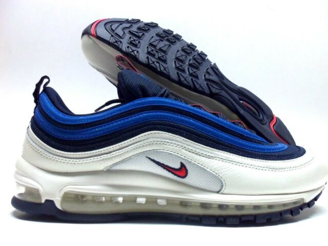 2ead71b855 Nike Air Max 97 SE Pull Tab Obsidian Sail Blue Nebula University Red ...