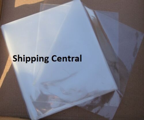 "Shrink Film Wrap Flat Bags 6/"" x 8.5/"" CD Gifts PVC Pieces 25 50 100 250 500 1000"