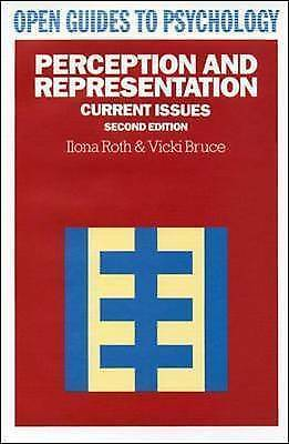 1 of 1 - Perception And Representation: Current Issues (Open Guides to Psychology), Ilona