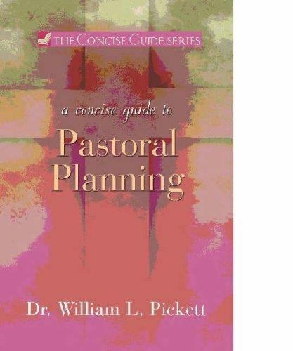 Concise Guide: A Concise Guide to Pastoral Planning FREE SHIPPING