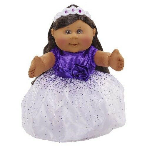 Cabbage Patch Kids Holiday Kid African American Girl, Purple Dress