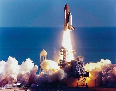 LIFTOFF OF SPACE SHUTTLE ENDEAVOR STS-127 MISSION 8X10 NASA PHOTO BB-349
