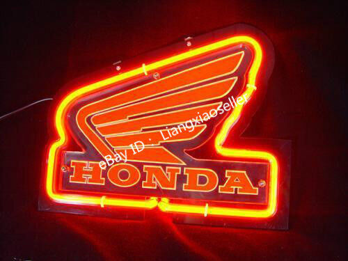 Neon Sign Ferrari Racing Horse Logo 3D Acrylic Beer Bar Pub Decor Light