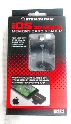 Stealth Cam SDCRIOS Sd Card Reader For Ios