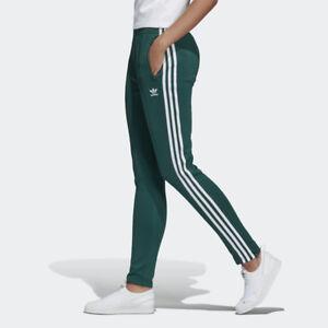 Detalles acerca de Nuevos Pantalones pista Adidas Original Para Mujer  Superestrella Verde DV2637 XS-L takse- mostrar título original