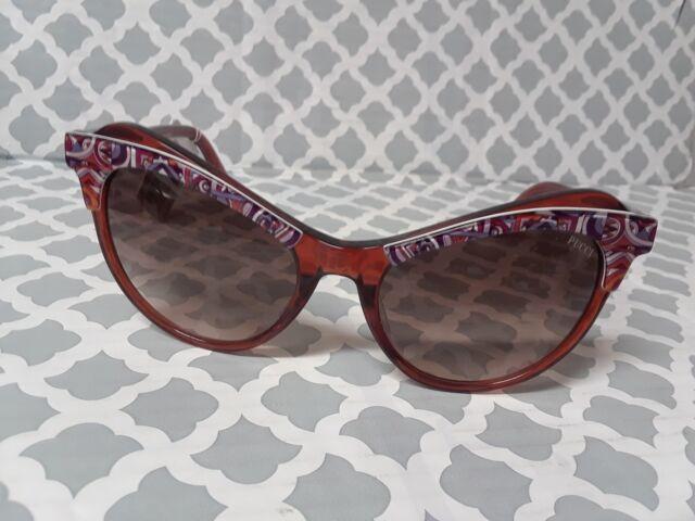 Sunglasses Emilio Pucci EP 0062 52F dark havana gradient brown