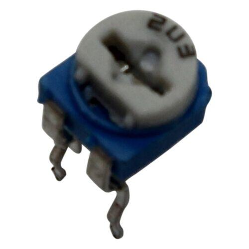 liegend 20kΩ 100mW 20x RKT6V-20K Potentiometer für den Einbau 1-Drehung