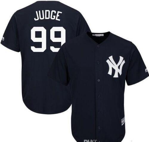 New York Yankees Baseball Jersey #99 Aaron Judge Shirt Colours
