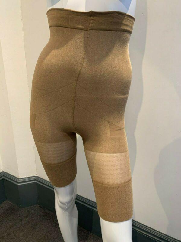 Girl From Ipanema Shimmered High Waisted Shapewear Short Long Leg