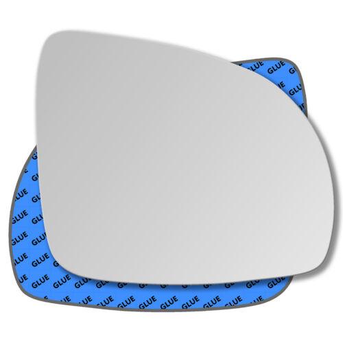 Droit Côté Passager Miroir De Verre Rétroviseur Extérieur Pour Kia Picanto 2007-2011
