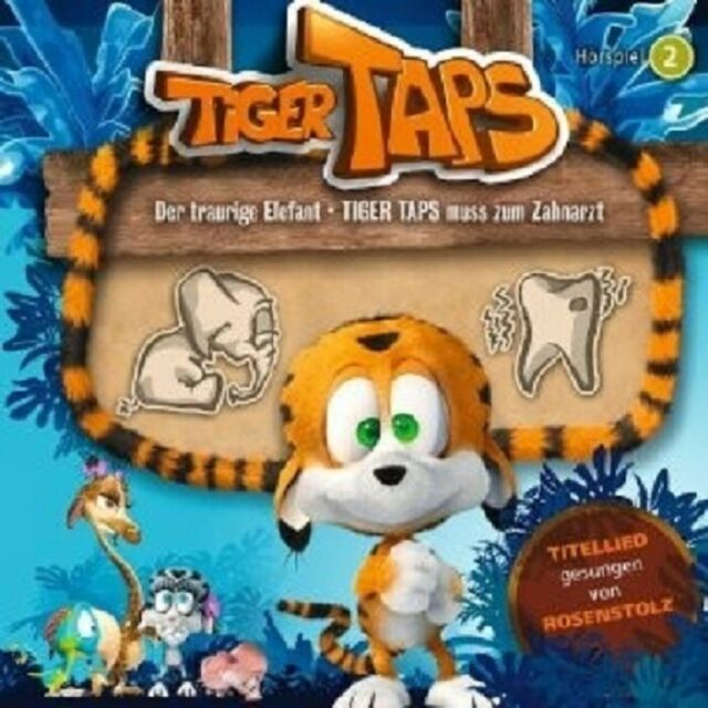 TIGER TAPS - 02: DER TRAURIGE ELEFANT...CD NEW