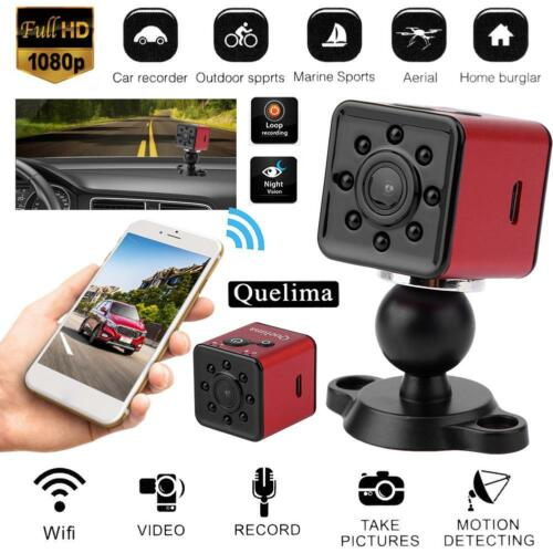 Quelima SQ13 1080P FHD Night Vision WiFi Car DVR Camera Dash Cam Mini Sports DV