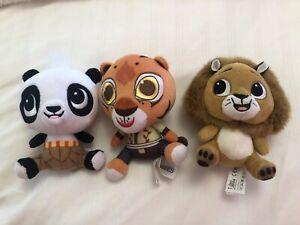Details about Dreamworks Heroes 2017 Seri Jakala Soft Toy Bundle Kung Fu  Panda Madagascar