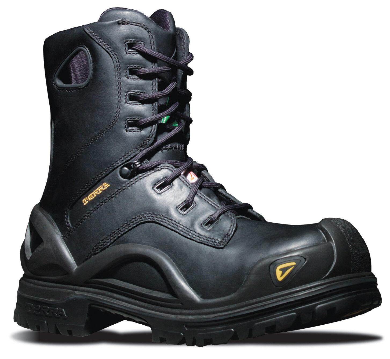 Terra Beruf Sicherheitsschuhe Boots Boots Boots 915605 Crossbow schwarz Gr. 47 Neu Y472 ced534