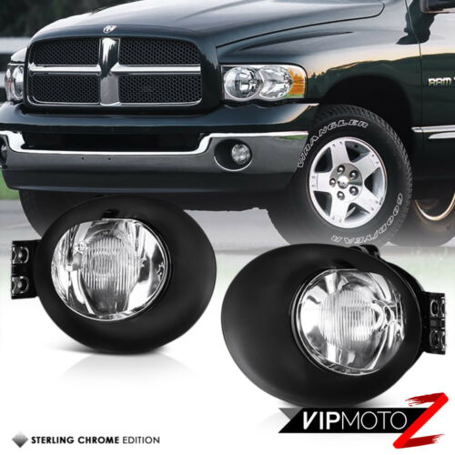 02-08 Dodge Ram 1500 2500 3500 Driving Bumper Fog Lamps Lights Pair Right Left