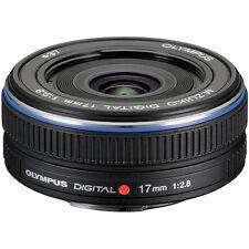 Olympus M.Zuiko Digital 17mm f/2.8 Lens - Black
