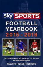 Sky Sports Football Yearbook 2015-2016 - Rothmans - Statistical Hardback Edition