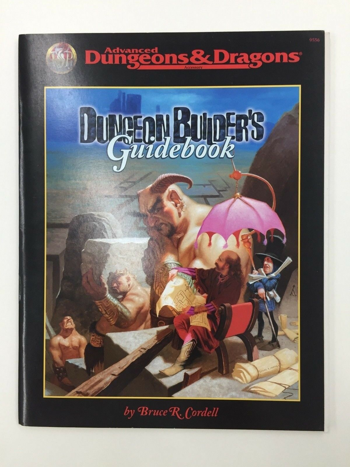 TSR ADVANCED DUNGEONS & DRAGONS DUNGEON BUILDER'S GUIDEBOOK ACCESSORY 9556 1998
