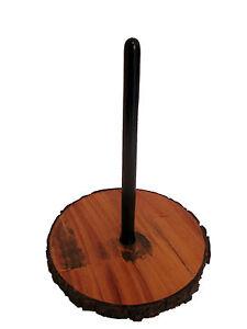 Charitable Didgeridoo Présentoir En Bois Avec Esthétique Défauts * Livraison Gratuite