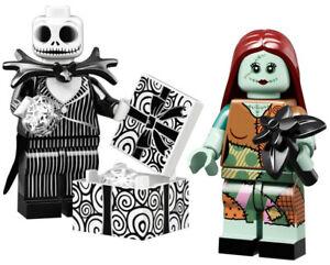 Halloween Christmas JACK SKELLINGTON /& SALLY Disney Minifigs in Factory Bags