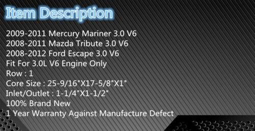 13041 Radiator  For 2008-2011 Mazda Tribute// 2008-2012 Ford Escape 2009 2010 V6