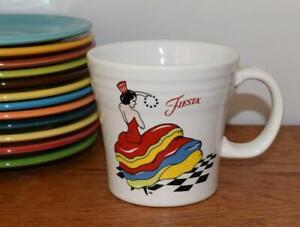 Fiesta-DANCING-LADY-Tapered-Mug-1st-Quality