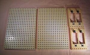 Batteriebaustein für DDR Experimentierkasten 11 025 je 2x Montageplatte DDR & Ostalgie