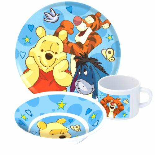 Geschirr-Frühstück-Set PoohWinnie Puuh3-teiligTeller Schale und Tasse